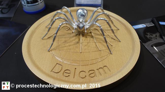 DELCAM - PowerINSPECT - nagrodzony na targach MACHTOOL 2015.