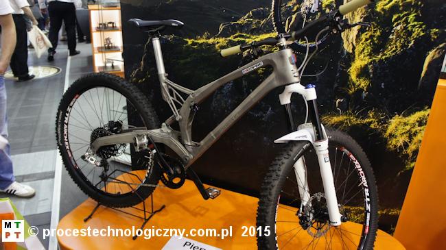 RENISHAW - rama rowerowa wydrukowana 3D.