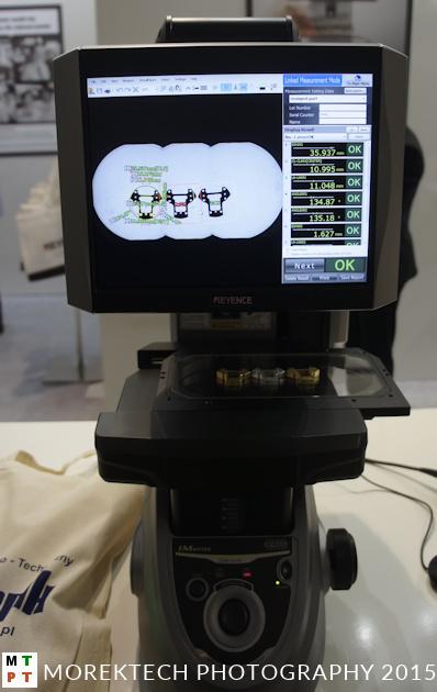 Kontrola techniczna. Urządzenie IM Series IM-6225 do obrazowych pomiarów firmy Keyence