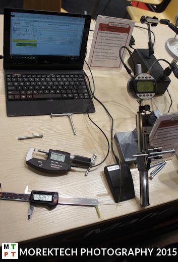 Kontrola techniczna. Stanowisko do pomiaru śrub firmy MAHR - TOOLEX 2015