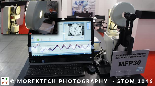 STOM 2016 - Stanowisko STEINMEYER do wzorcowania czujników zegarowych (stoisko firmy FAKTOR)
