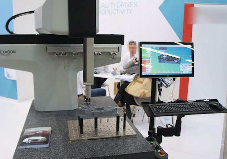 Mertrologia - Współrzędnościowa Maszyna Pomiarowa HEXAGON - STOM 2016 w Kielcach