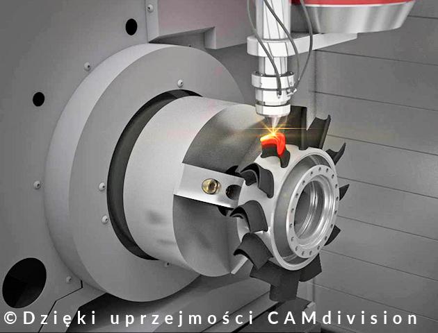 hybrydowe - napawanie laserowe - LASERTEC 3D DMG MORI