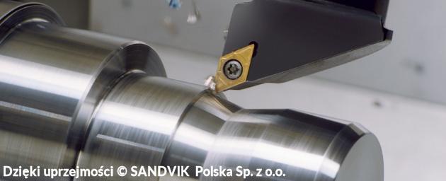 toczenie - Ilustracja 2b. Toczenie wzdłużne kształtujące - (c) SANDVIK Sp. z o.o.