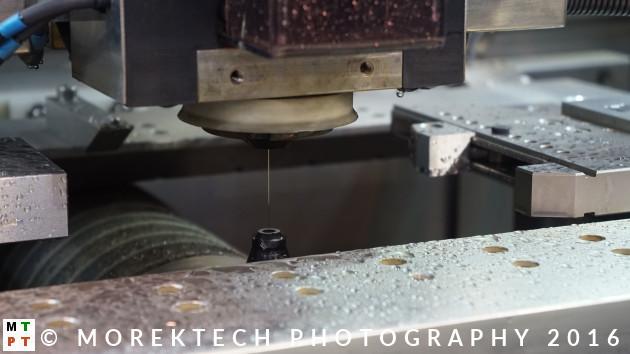 Obrabiarki - Ilustracja 4. Wycinarka drutowa firmy GF Machining Solutions (Targi TOOLEX 2016