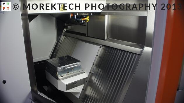 Ilustracja 1. Przykład zastosowania palety we frezarskim pionowym centrum CNC GF Machining Solutions w ramach Systemu 3R.