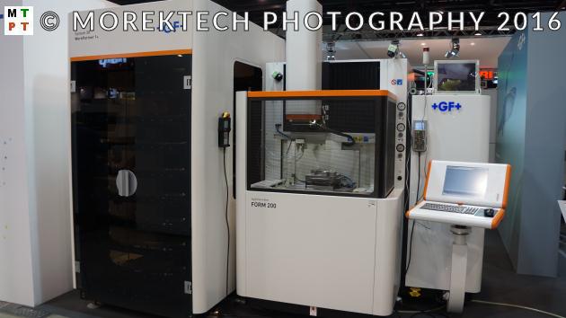 Ilustracja 2. Elektrodrążarka EDM AgieCharmilles FORM 200 z Systemem 3R z WorkPartner 1+
