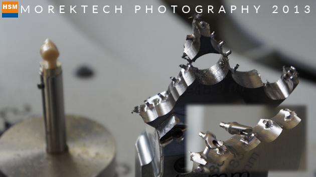 implanty - Ilustracja 3. Obróbka szybkościowa - Półfabrykat zużyty po obróbce implantów - GF Machining Solutions