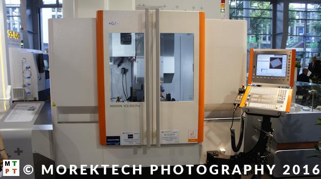 planowanie procesu technologiczengo - Ilustracja 2. Centrum frezarskie CNC firmy GF Machining Solutions