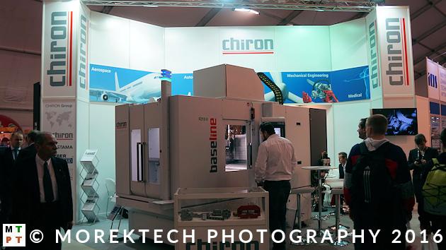 prasa technologiczna - przegląd - Ilustracja 2. Stoisko firmy CHIRON.