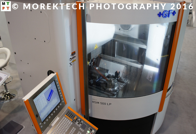 HSM - obróbki szybkościowe - High Speed Machining - GF Machining Solutions MIKRON