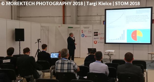 Targi Kielce - STOM 2018 - Dni Druku 3D