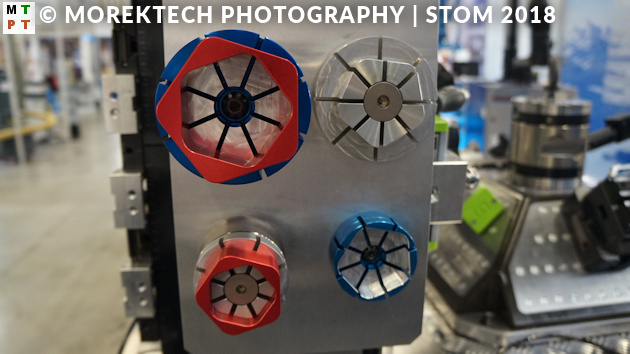 Targi Kielce - STOM 2018 - obróbka, automatyzacja, skany - Ilustracja 2. Ustalenie i zamocowanie przedmiotów z wykorzystaniem kształtowych elementów rozprężnych - stoisko firmy KIPP.