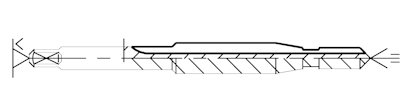 wiertłogwintownik - narzędzie zespolone