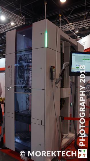 automatyzacja stanowiska obróbkowego - robotyzacja