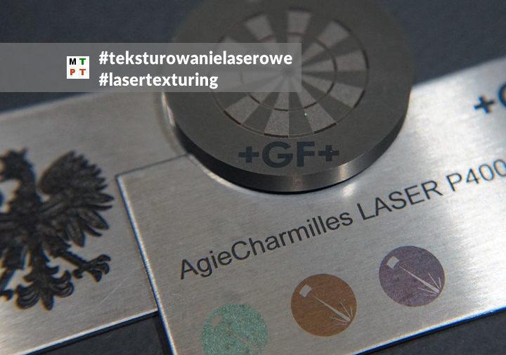 teksturowanie laserowe - laser texturing - GF Machining Solutions - Laser P