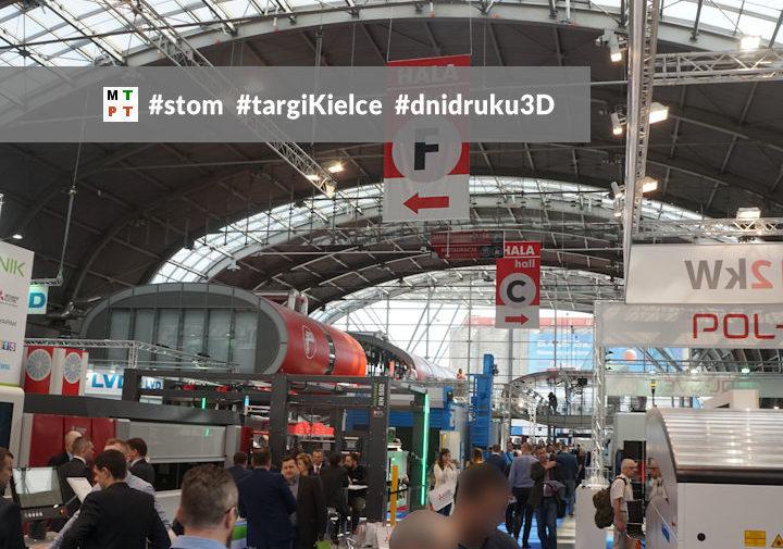 Targi STOM - Targi Kielce - Dni Druku 3D