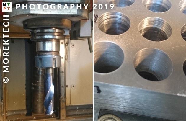 hole machining - drill - sandvik - PA6