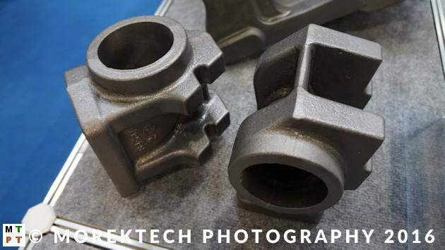 hole machining - casting - workpiece
