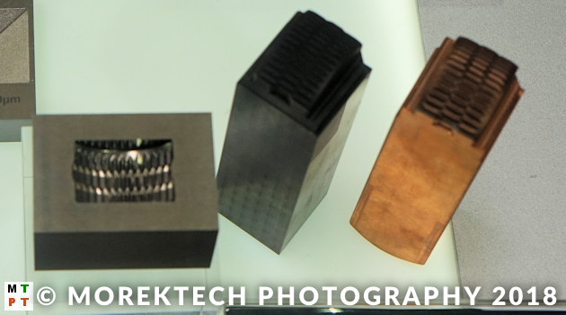 electrical discharge machining - graphite and copper electrodes