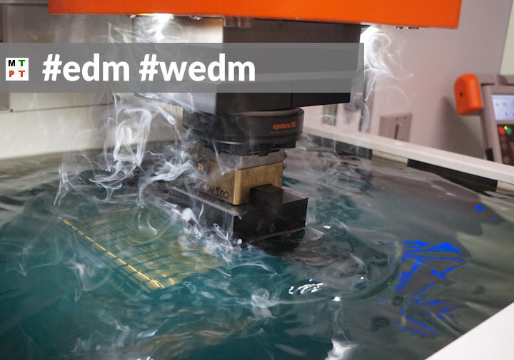 edem - elektrodrążenie - EDM - WEDM