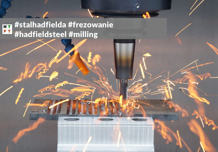 prędkość skrawania - stal hadfielda - hadfield steel -cutting speed