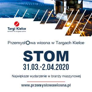 targi kielce - stom 2020 - przemysłowa wiosna