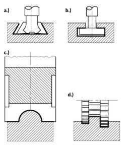 dźwignia - lever - proces technologiczny - technological process- frezowanie - milling
