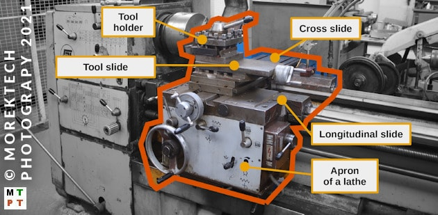 lathe - conventional - tool carrier