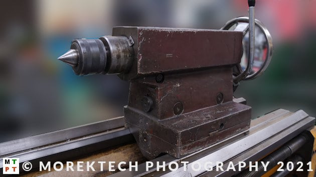 lathe - conventional - tailstock